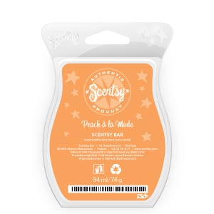 Peach a la mode Scentsy Bar