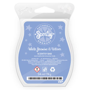 White Jasmine & Vetiver Scentsy Bar