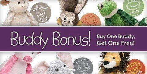 Scentsy Buddies Buy one Get one Free