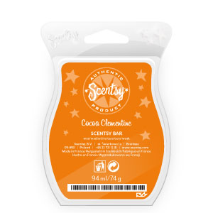 Cocoa Clementine Scentsy Bar