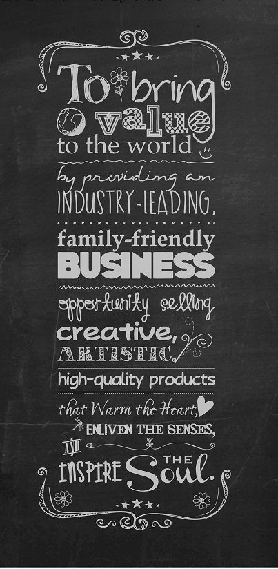 Scentsy Mission Statement