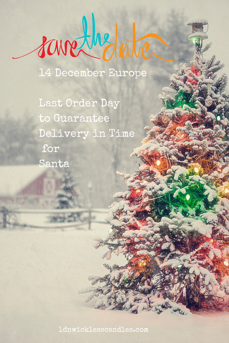 Scentsy Christmas Shipping Dates 2014