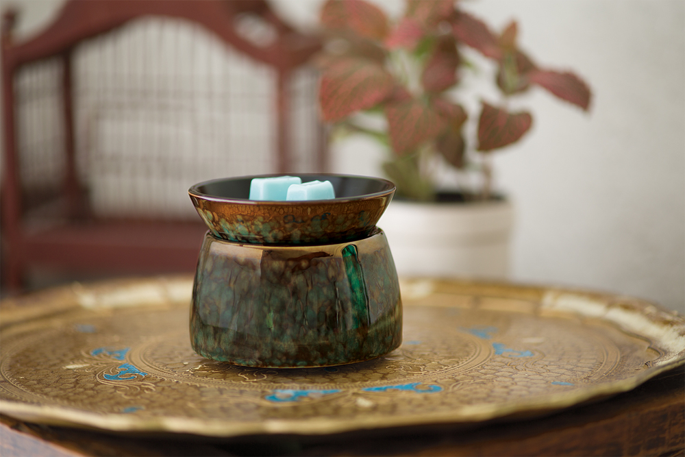 Green Marble Scentsy Element Warmer