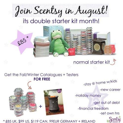 Scentsy Transition Month