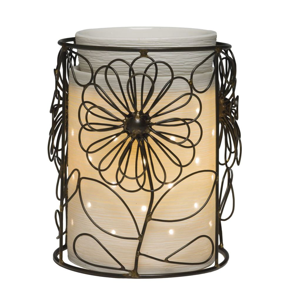 Flowers Scentsy Warmer Wrap