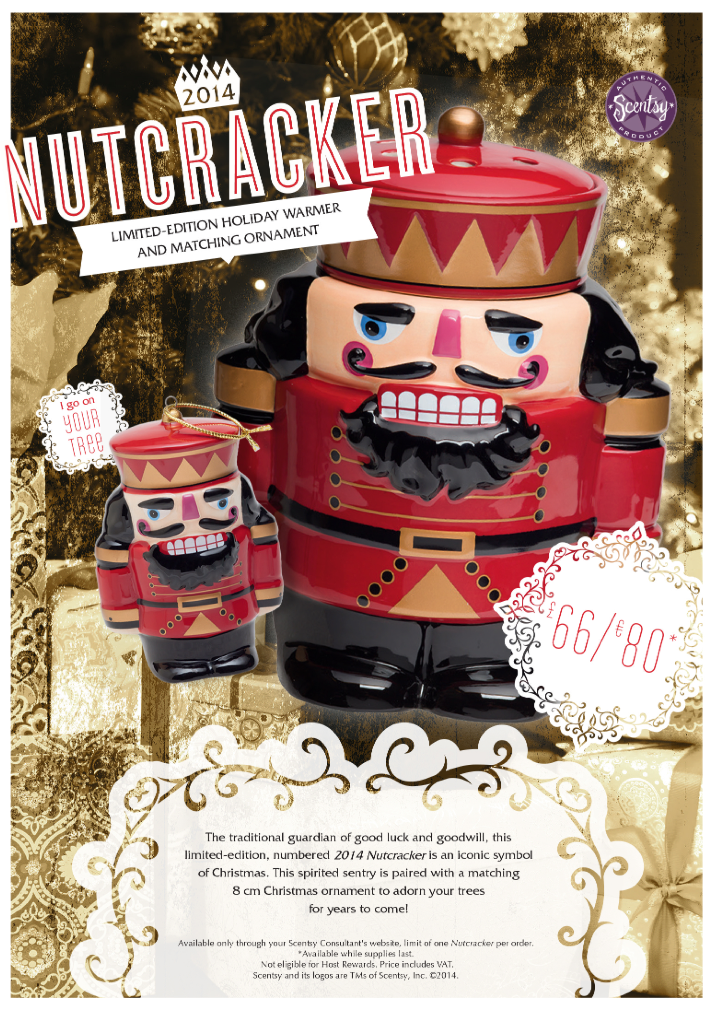 Nutcracker Scentsy Warmer Limited Edition