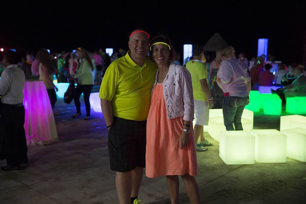 Heidi and Orville Thompson Cancun