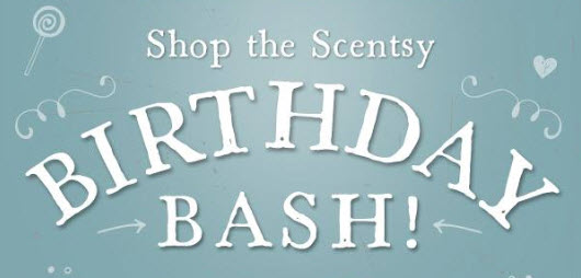 Scentsy Birthday Bash Sale