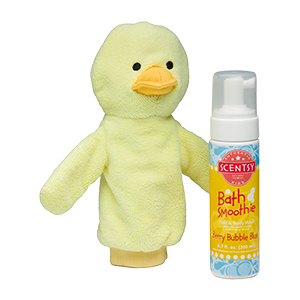 WELLINGTON THE DUCK SCENTSY SCRUBBY BUDDY