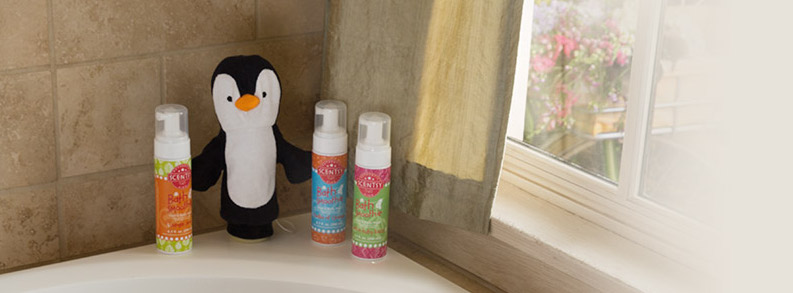 Scented Shampoo and Bath Wash for Kids