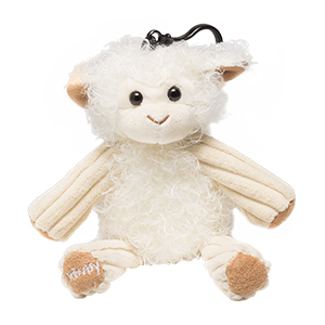 Clip-on, collectible and oh-so-cute, these fuzzy friends are filled with scented beads that deliver kid-friendly fragrance anytime, anywhere. Great for backpacks and bedrooms! Buddy is polyester with a polypropylene clip. Spot clean.