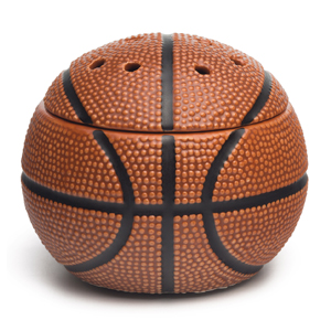 BASKETBALL SCENTSY WARMER:  Score! Add a sporty kick to your little basketball fan's room or showcase your favourite sport in a special place in your home.