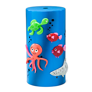 It's an adventure under the waves! Little voyagers will love creating fantastical scenes with magnetic — or are they magic? — sea creatures, while they discover new ways to explore at every turn! Includes six magnets.  REPLACEMENT DIFFUSER SHADE