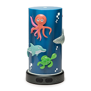 DEEP BLUE SEA SCENTSY DIFFUSER:  Scentsy diffusers are warranted to be free from defects in material and workmanship for the lifetime of the product. In order to claim a warranty, you must register your product at www.scentsydiffuser.com or have the original receipt.