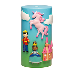 ONCE UPON A TIME SCENTSY DIFFUSER SHADE:  Step inside an enchanted world, where a princess tames a darling dragon as her prince guards the castle. Or maybe they all enjoy a picnic in the meadow? The options are endless with colourful magnets kids can use to design their own fairytale. Includes five magnets.