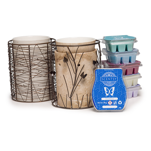 PERFECT SCENTSY MULTI PACK £44 WARMERS (SILHOUETTE COLLECTION)
