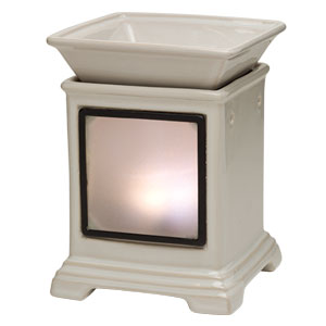 CREAM GALLERY SCENTSY WARMER WITH FRAME