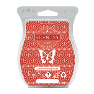 Candied Pomegranate Scentsy UK wax