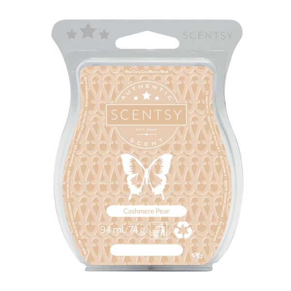 cashmere pear Scentsy Uk Wax