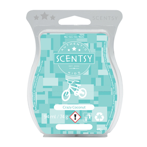 crazy coconut scentsy bar