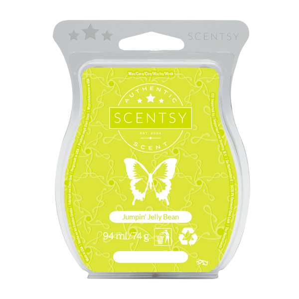 Jumpin Jelly Bean Scentsy Bar