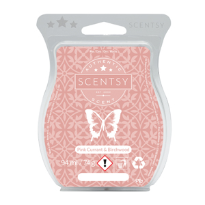Pink Currant & Birchwood Scentsy Bar