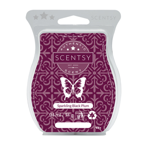 Sparkling Black Plum Scentsy Bar Wax