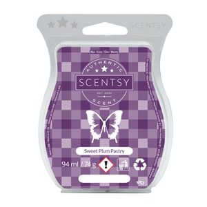 Sweet Plum Pastry Scentsy Wax