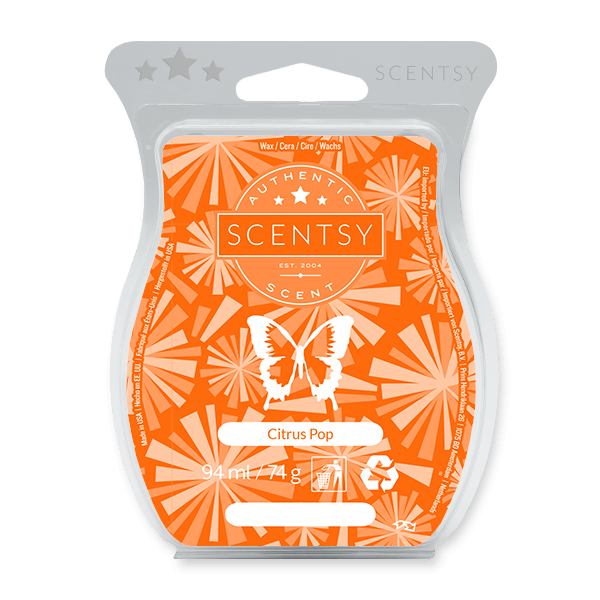 Citrus Pop Scentsy Bar UK