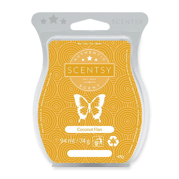 Coconut Flan Scentsy Bar UK