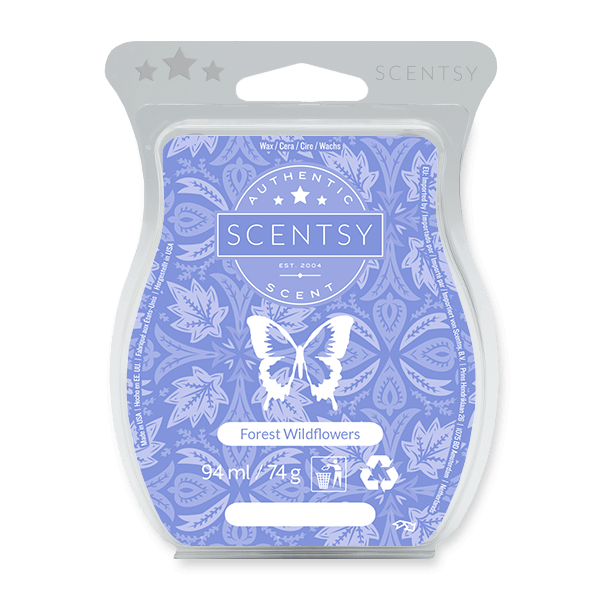 FOREST WILDFLOWERS SCENTSY BAR UK