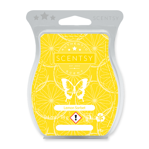 LEMON SORBET SCENTSY BAR UK
