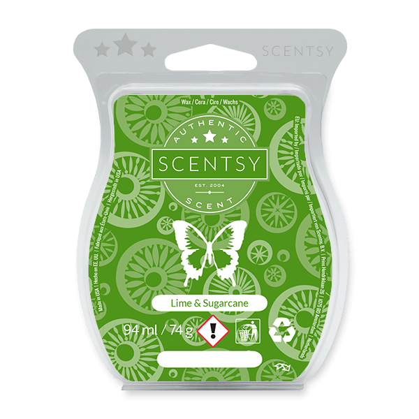 LIME SUGARCANE SCENTSY BAR UK