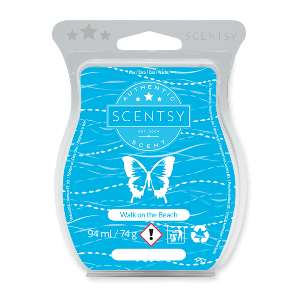 WALK ON THE BEACH SCENTSY BAR UK