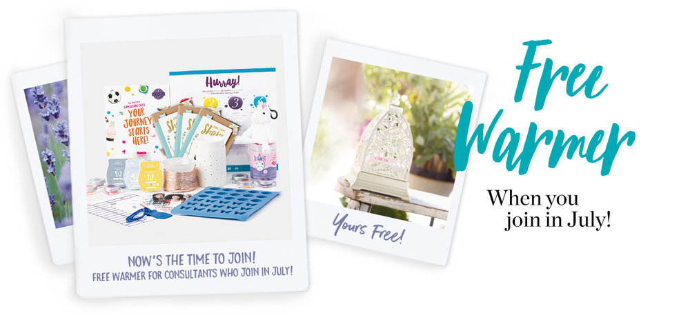 Join Scentsy Free Warmer