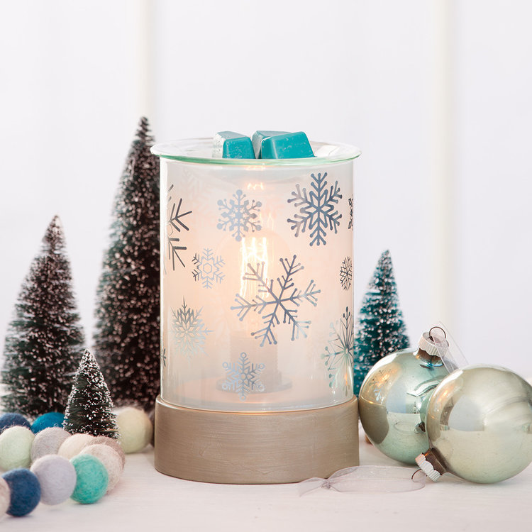 silver frost scentsy warmer