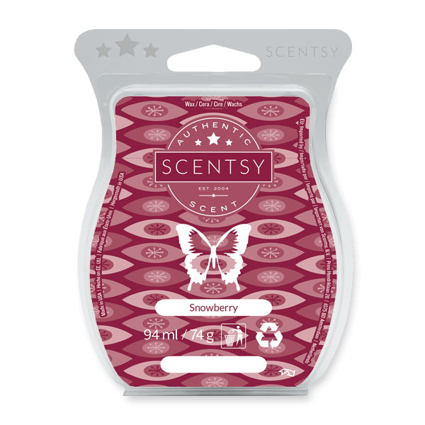 A luscious blend of loganberry, strawberry, peppermint, and zesty cinnamon home fragrance wax