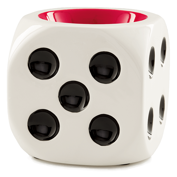 White Die Dice Warmer