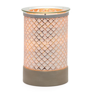 Cream Diamond Scentsy Warmer