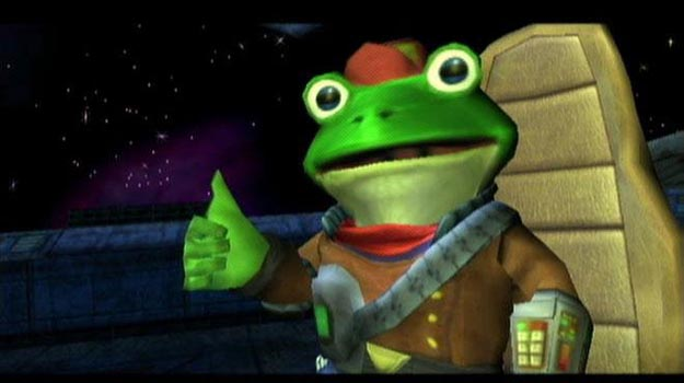 green video game characters - slippy toad