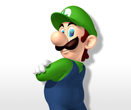 green video game characters - luigi