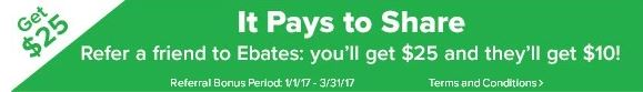 CLICK HERE TO EARN QUICK MONEY ON EBATES!