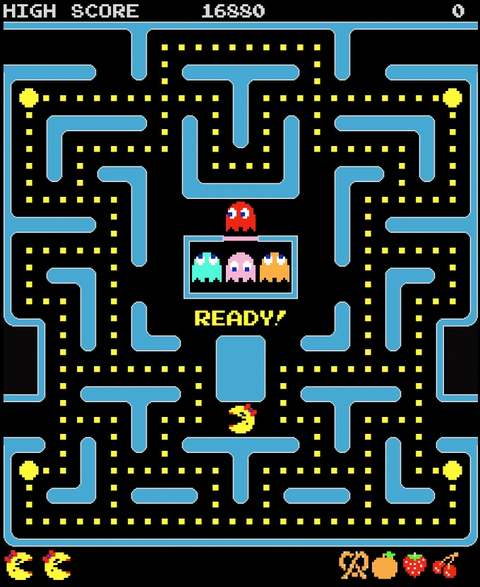 Top 100 Video Games - ms pac man