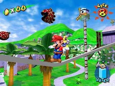 Top 100 Video Games - super mario sunshine