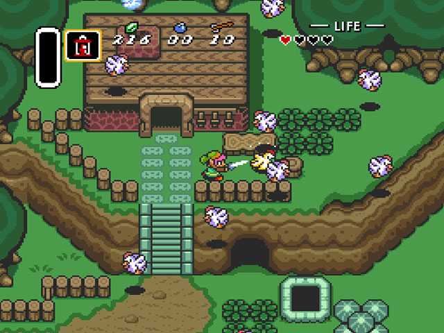 Top 100 Video Games - the legend of zelda a link to the past