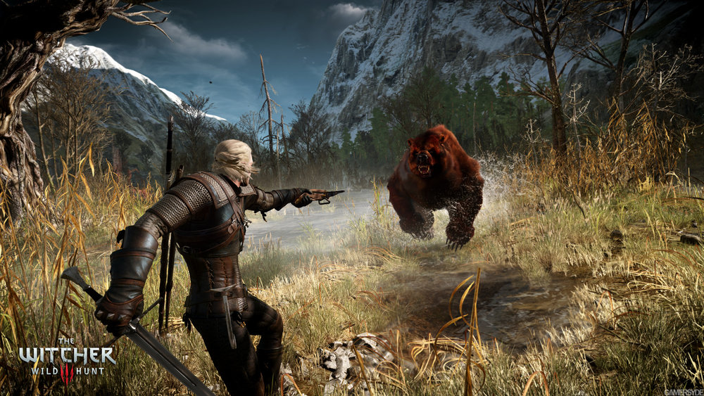 Top 100 Video Games - the witcher 3