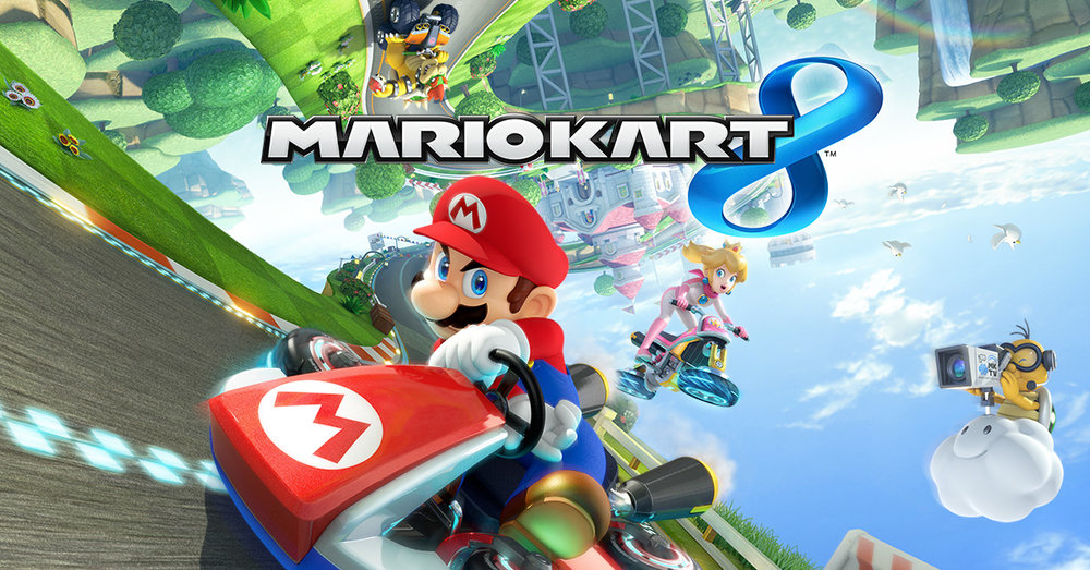 Top 100 Video Games - mario kart 8