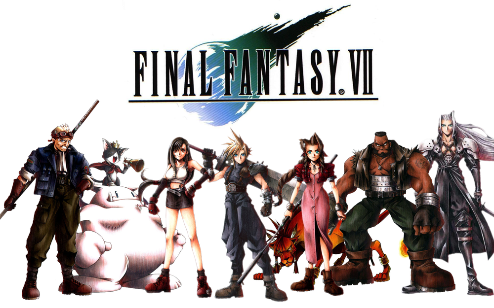 Top 100 Video Games - final fantasy vii