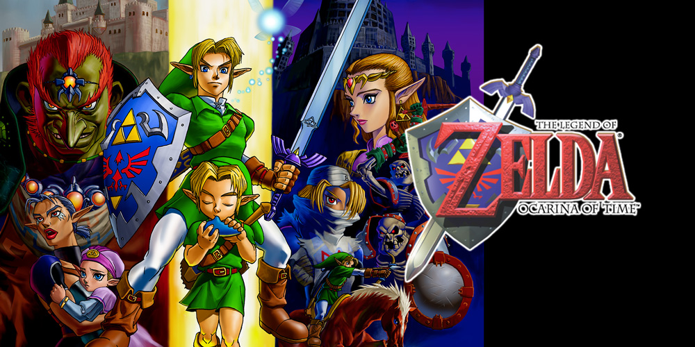 Top 100 Video Games - the legend of zelda ocarina of time