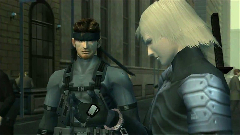 Top 100 Video Games - metal gear solid 2